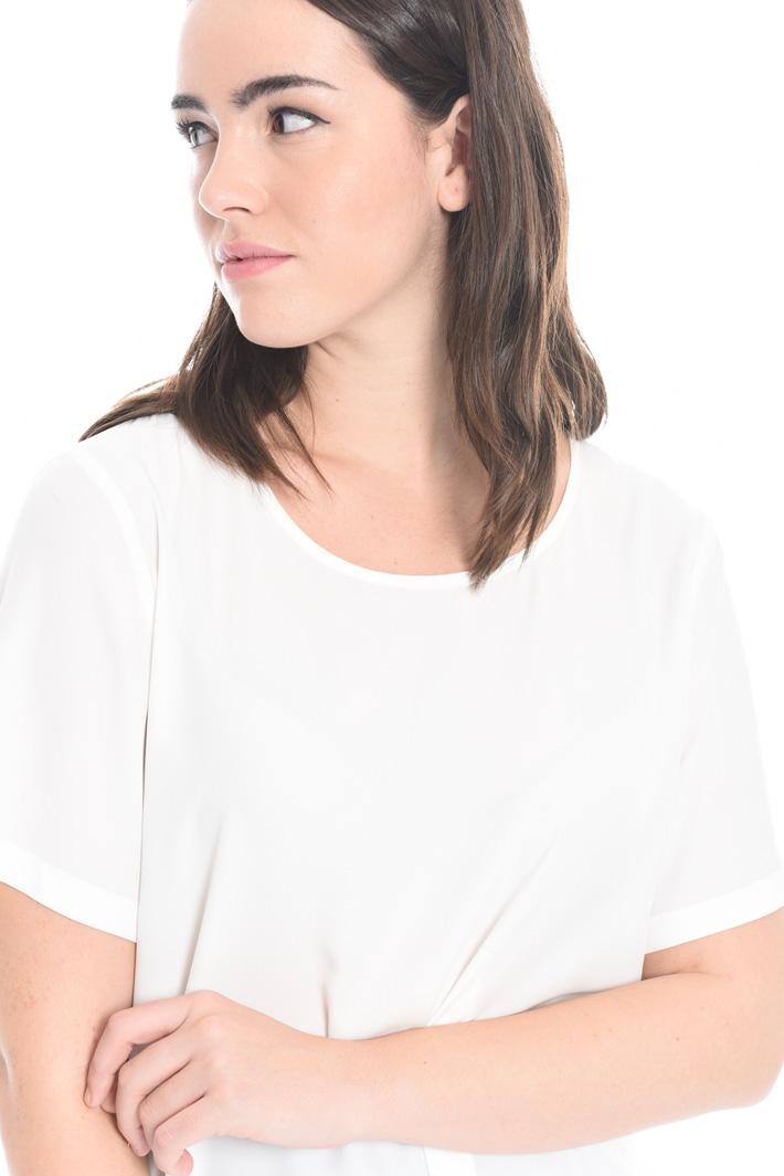 Silk blend blouse Diffusione Tessile