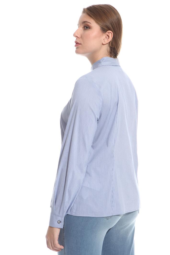 Camicia in cotone tinto filo Intrend
