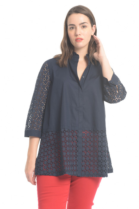 Broderie anglaise shirt Diffusione Tessile