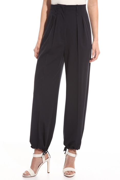 Stretch wool trousers Diffusione Tessile