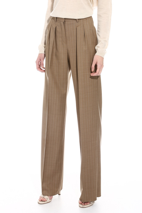 Pure wool trousers Diffusione Tessile
