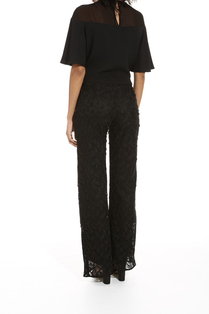 Macramé trousers Intrend