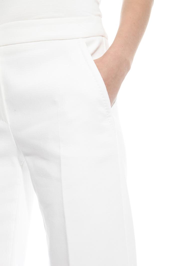 Cotton palazzo trousers Diffusione Tessile