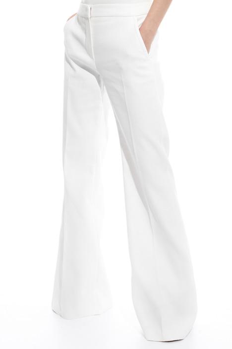 Pantalone palazzo in cotone Diffusione Tessile