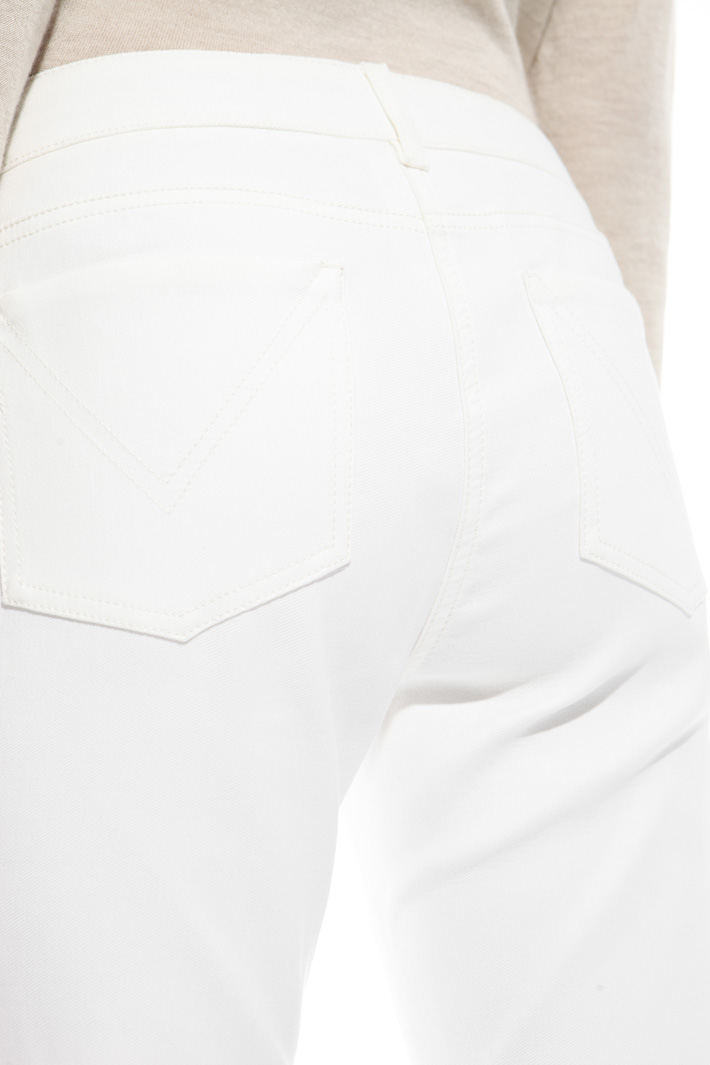 Double fabric trousers Intrend