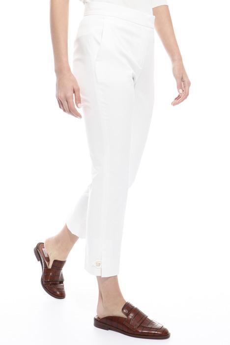 Pantalone in raso di cotone Diffusione Tessile