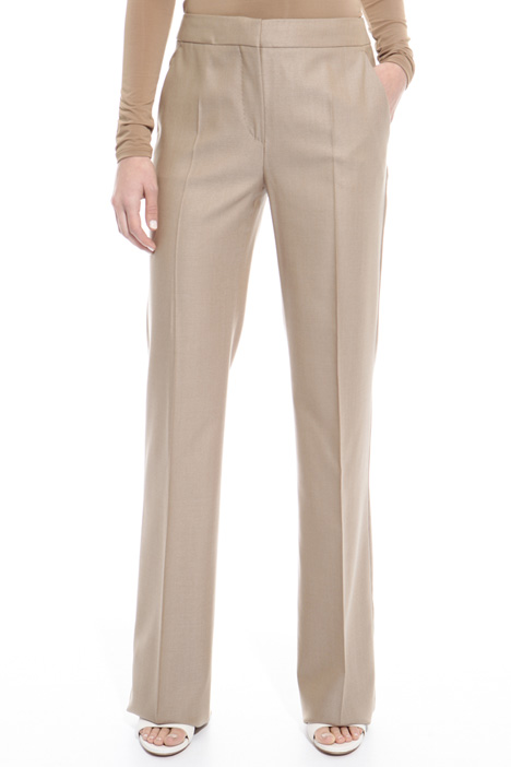 Silk and wool trousers Diffusione Tessile