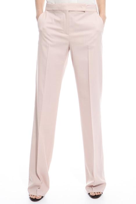 Pantalone in lana misto seta Diffusione Tessile