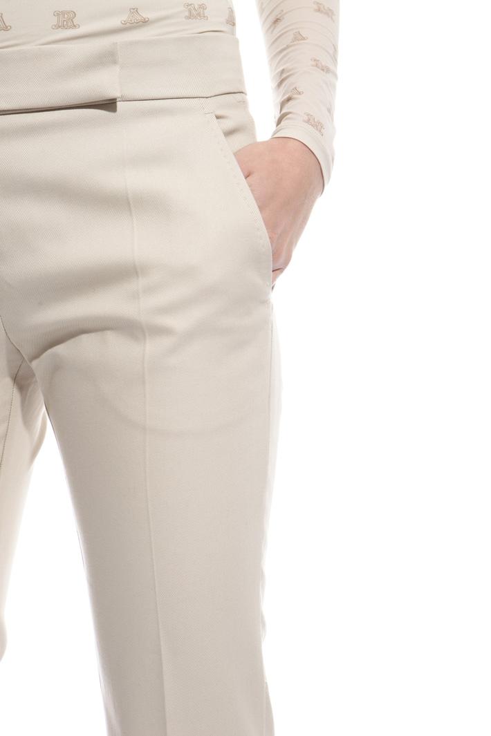 Long folded hem trousers Intrend