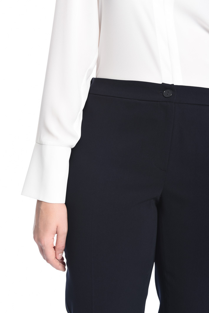 Pantalone in tessuto fluido Intrend