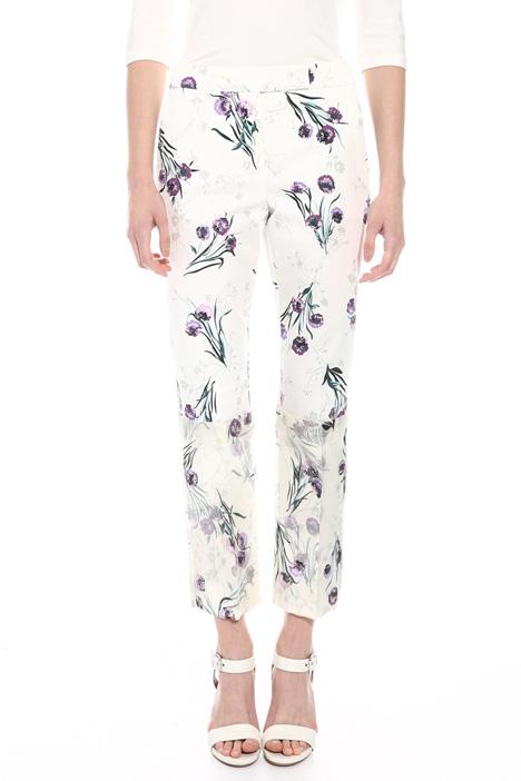 Pantalone con maxi risvolti Diffusione Tessile