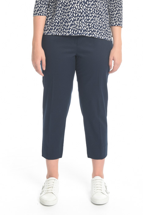 Cropped skinny cotton trousers Intrend