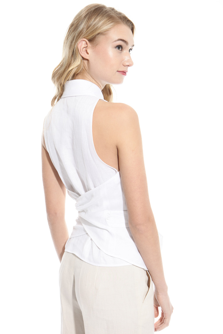 Pure linen top Intrend