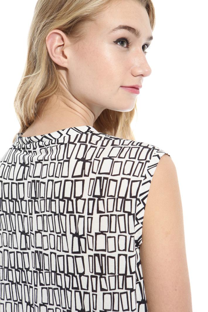 Tie-neck top Diffusione Tessile