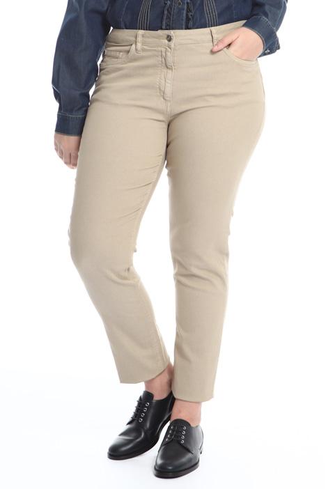 Pantalone in bull di cotone Diffusione Tessile