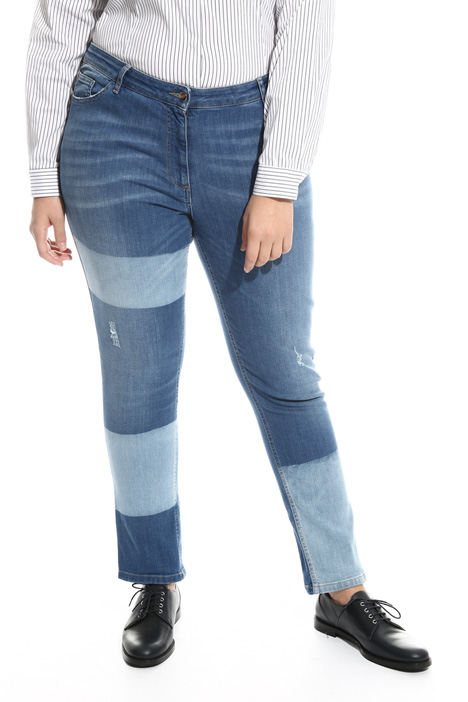 Jeans skinny in denim stretch Intrend