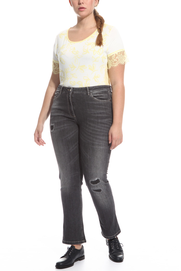 Slim fit denim jeans Intrend