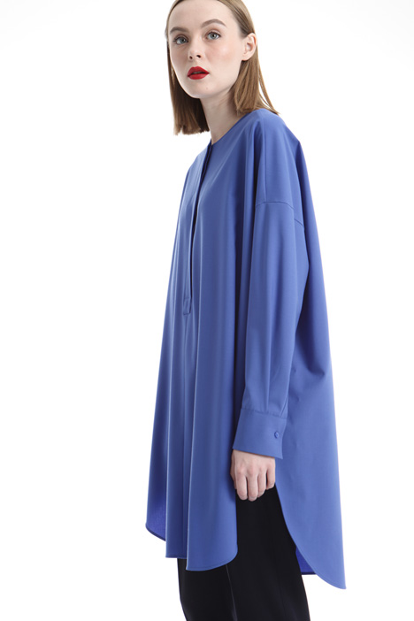 Wool canvas tunic Diffusione Tessile