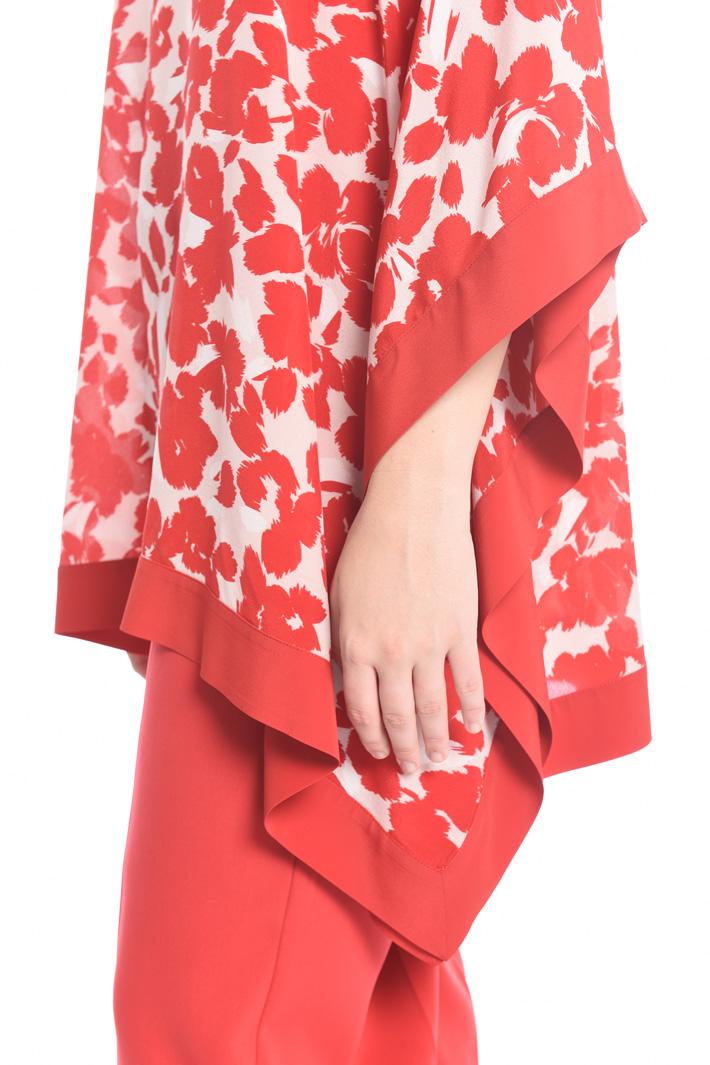 Printed silk tunic Intrend