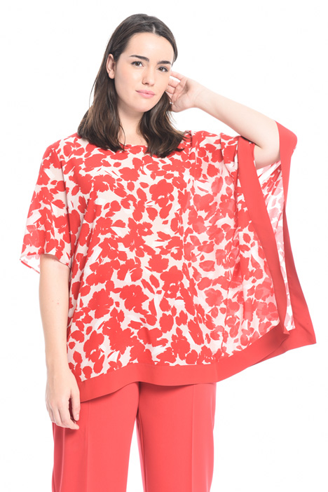 Printed silk tunic Intrend
