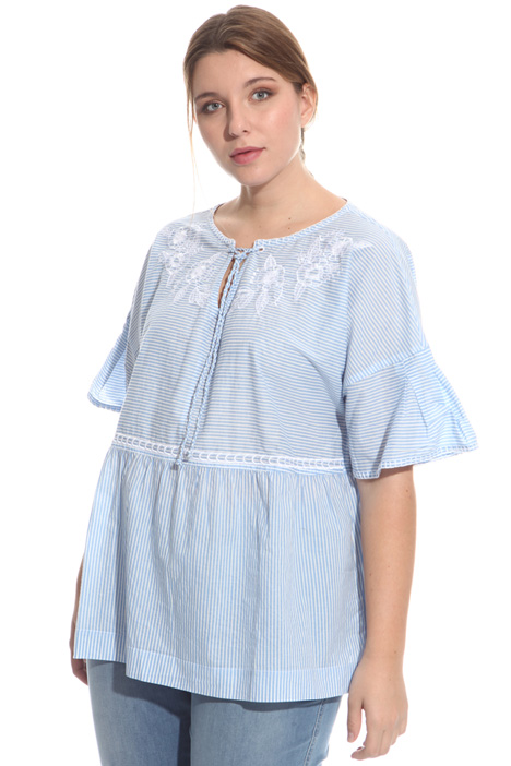 Cotton voilé blouse Intrend