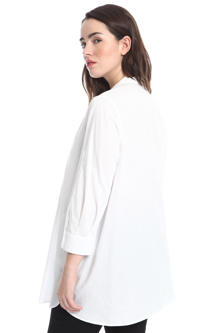 Oversized shirt with slits Intrend