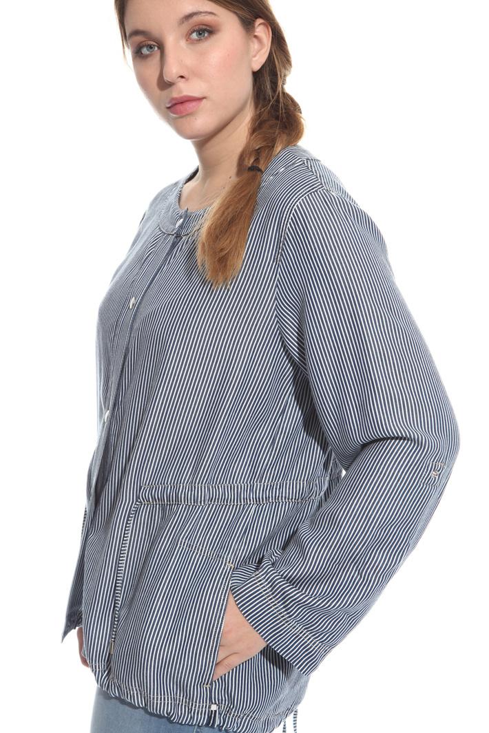 Denim-effect tunic Intrend
