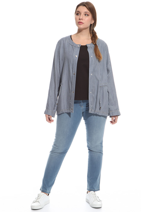 Denim-effect tunic Diffusione Tessile