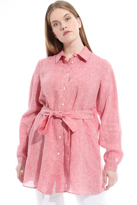 Camicia con cintura in vita Diffusione Tessile