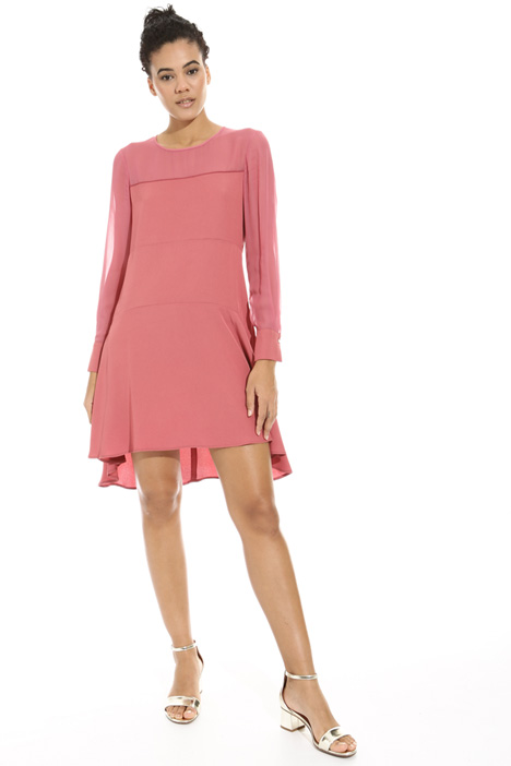 Asymmetrical hem dress Diffusione Tessile