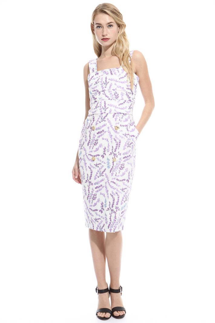 Pure cotton longuette dress Intrend