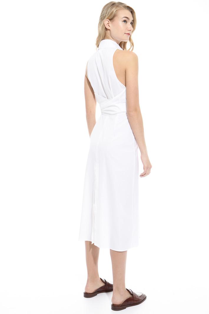 Sleeveless cotton dress Intrend