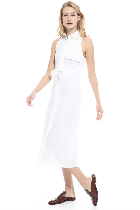 Sleeveless cotton dress Intrend