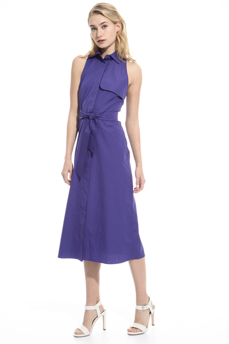 Sleeveless cotton dress Diffusione Tessile
