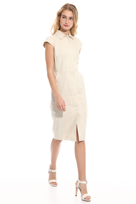 Wool canvas dress Intrend