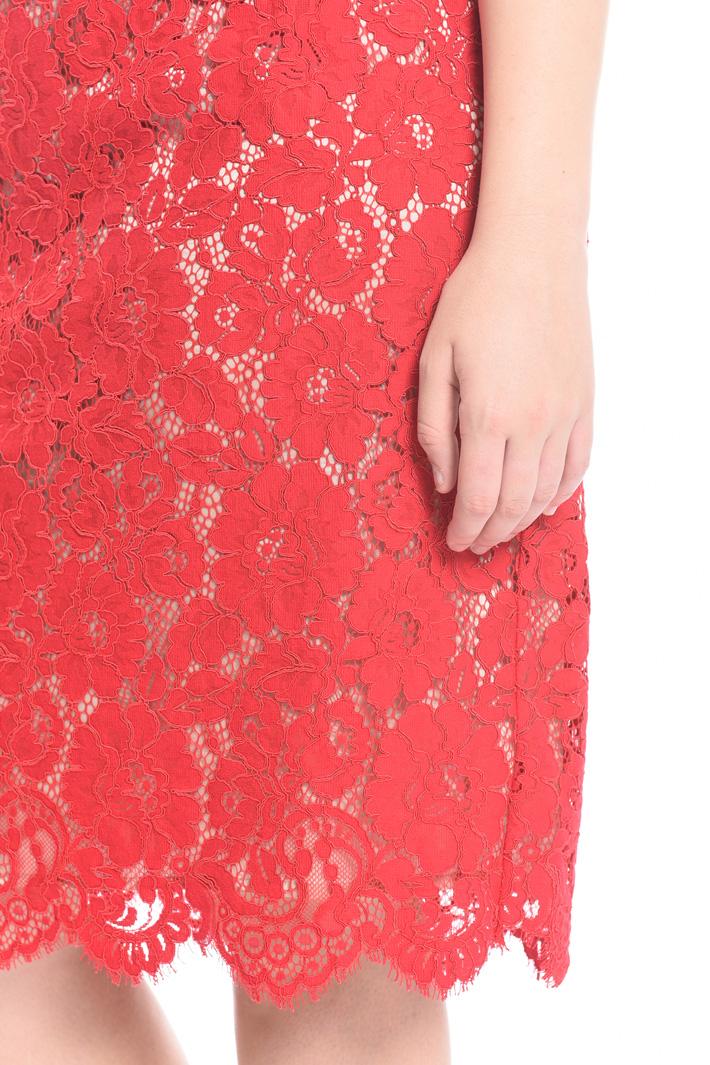 Rebrodé lace sheath dress Intrend