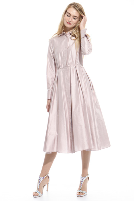 Shantung princesse-line dress Intrend