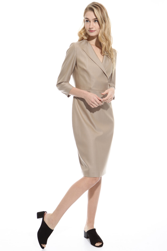 Wool and silk dress Intrend