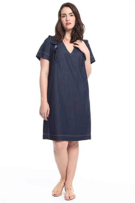 Lightweight denim dress Intrend