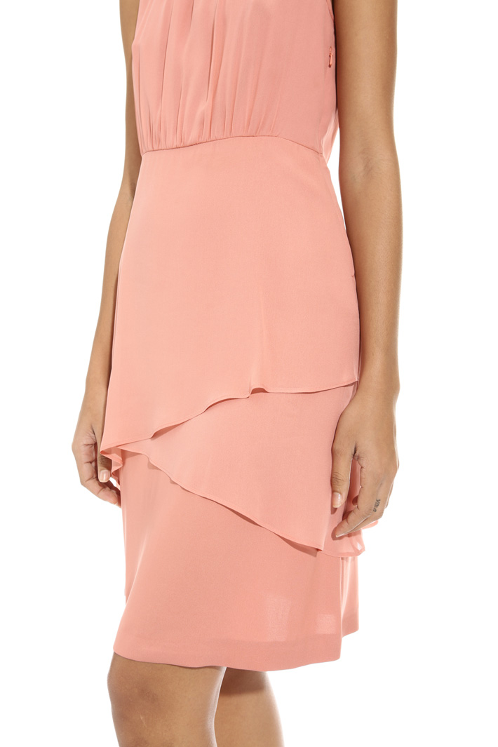 Georgette overlay dress Intrend