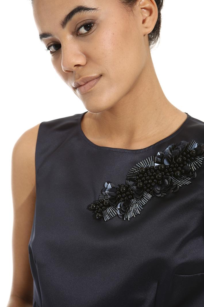 Bijou embroidery dress Intrend