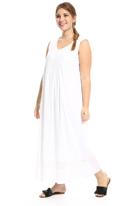 Long cotton voile dress Diffusione Tessile