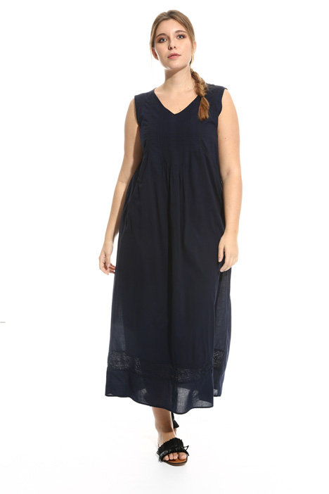 Long cotton voile dress Intrend