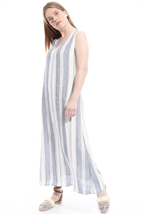 Long linen dress Diffusione Tessile