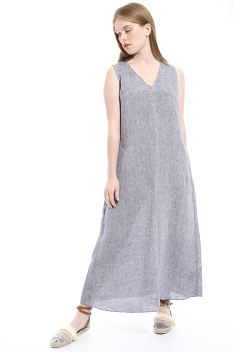 Slub linen dress Diffusione Tessile
