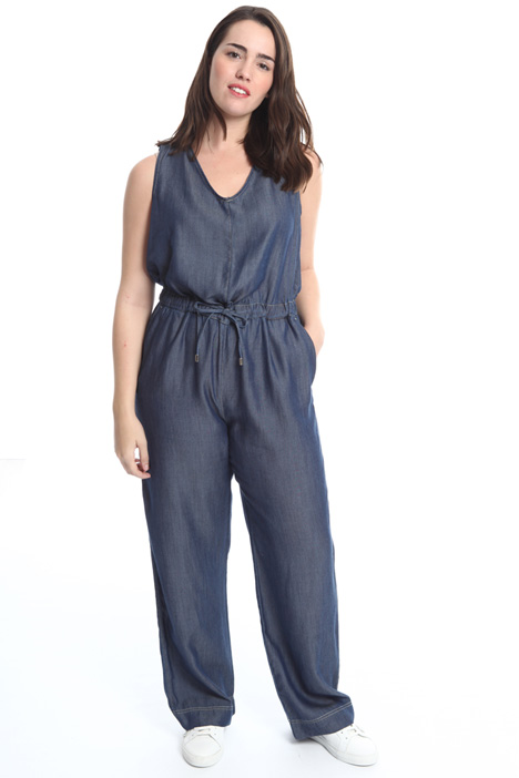 Denim-effect jumpsuit Intrend