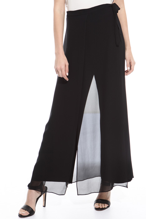 Trousers with sarong Diffusione Tessile