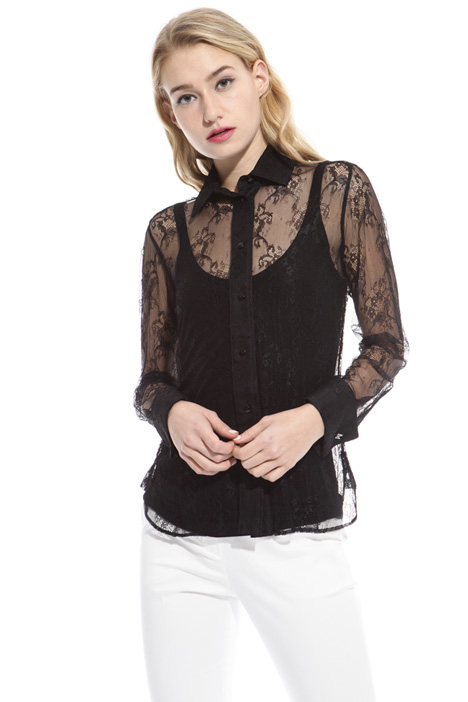 Chantilly lace shirt Intrend