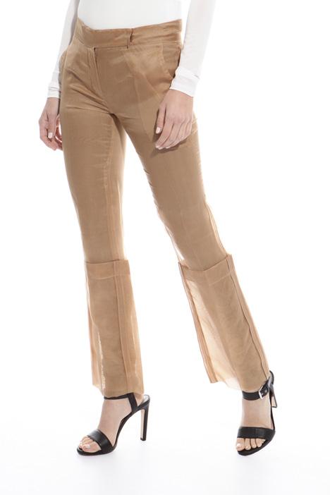 Pantalone in organza di seta Diffusione Tessile