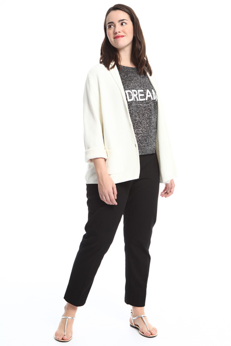 Cotton cardigan blazer Intrend